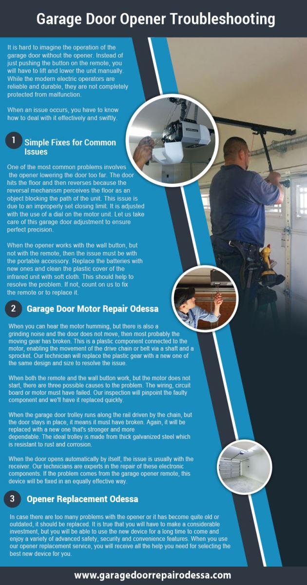 ... Overhead Door Odessa Garage Door Repair Odessa Infographic ...